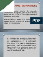 Contratos Mercantiles Diapositivas 2014