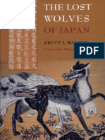 The Lost Wolves of Japan. by Brett L. Walker.