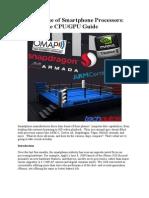 Smartphone GPUs & Processors
