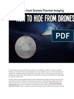 How to Hide From Drones & Thermal Imaging-Emissivity