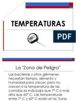 TEMPERATURAS PRESENTACIÓN