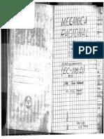 Curso Mecánica Racional - UNI Mecánica 1984