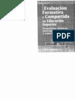Lopez Pastor - La Evaluación Formativa y Comparativa en Educación Superior - Cap.3