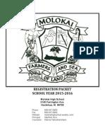 registration packet 15 16