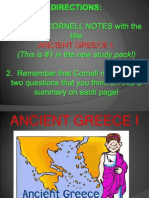 greece cornell notes