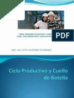 Ciclo Productivo y Cuello de Botella1