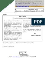 Composition Du 1er T 3AM Français