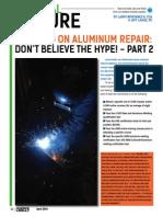 Warning on Aluminum Repair - Part 2