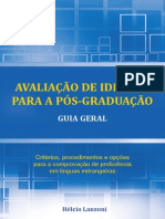 Lanzoni Avaliacao de Idiomas Para a Pos Graduacao Guia Geral