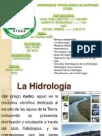 La Hidrologia 2013