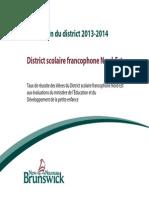 Bulletin District Scolaire Francophone Nord-Est