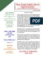 hfc november 9 2014 bulletin