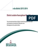 Bulletin District Scolaire Francophone Nord-Ouest