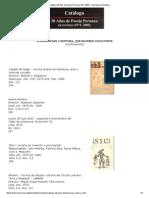 Catálogo 30 Años de Poesía Peruana (1971-2000) - Emergencia y Ruptura
