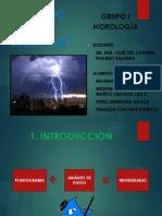 Hidrologia - Estudio de Tormentas