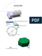 How to Create Hex Bolt
