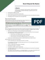 ExcelBasics Handout