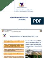 Presentacion Monitoreo Ambiental en Ciudad Guayana