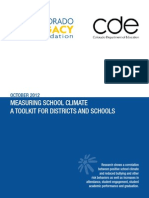 Measuring School Climate Toolkit