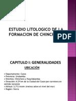 Formacion de Chincheros