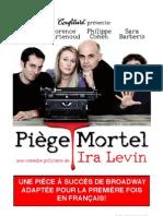 Dossier Piège Mortel de Ira Levin