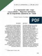 Imagem e Represão Del Rojo Separatista_ctalunya Nos Anos30