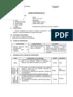 SESIÓN DE APRENDIZAJE N°2resolucion de ejercicos con conjuntos