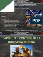 Cap 2. Control de La Industria Minera (Pptx)