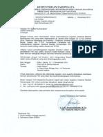 Undangan Peserta Asistensi Mediasi Pemeriksaan HKI Jakarta