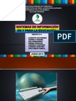 Sistemas de Informacion en La Educacion
