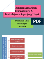 Perkembangan Kemahiran Profesional Guru & Pembelajaran Sepanjang Hayat