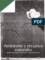 Revista de Ambiente y Recursos Naturalles I.3