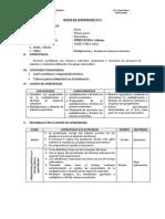 SESIÓN DE APRENDIZAJE N°14 multiplicacion y division en N