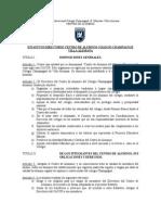estatutos centro de alumnos