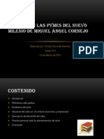 Exposición Las Pymes Del Nuevo Milenio de Miguel