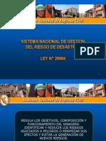 Sinagerd Ley 29664LEY DEL SISTEMA NACIONAL DE DEFENSA CIVIL