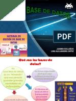 Presentacion Bases de Datos