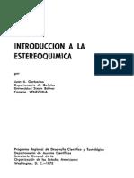 (L) Introduccion a La Estereoquimica (1975) (1)