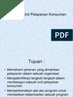Membuat Unit Pelayanan Konsumen1.ppt