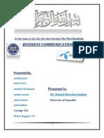 Business Communicaton Project Telenor