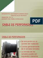 EXPOSICION Cable de Perforación