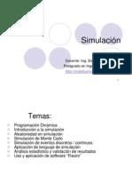 Apuntes de Simulación - Ingenieria Industrial