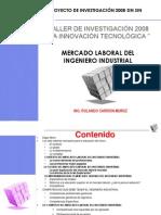Mercado Laboral Del Ingeniero Industrial