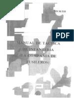 Manual de Tactica de Infanteria La Compañia de Fusileros