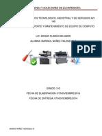 Problemas y Soluciones de La Impresoraii