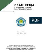 Program Kerja Ketua Jurusan