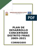 Plan Desarrollo Consertado Frias