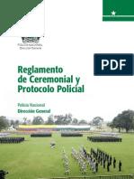 Reglamento de Ceremonial y Protocolo Colombia