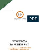 Programa Emprende PRO