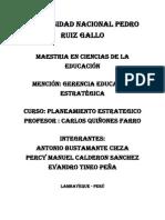 Administracion y Planeamiento